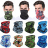 Neck Gaiter Bandana Half Face Mask Headband Ice Silk Face Cover Scarf