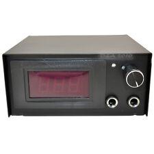 Professional Metal Box Digital LCD Professional Tattoo Power Supply Source Black