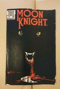 Moon Knight, Marvel Comics, no. 29, 1982