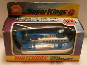 MATCHBOX SUPERKINGS K-22 SRN6 HOVERCRAFT 1974
