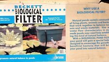 Beckett BF3000 Biological Filter without Pump-3000 Gal. Capacity