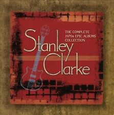 NEW The Complete Stanley Clarke 1970s Epic Albums Collection (Audio CD)