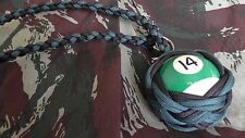 "Boule Billard N°14 ø52 mm Lanyard ""Self Defense/Survie"""