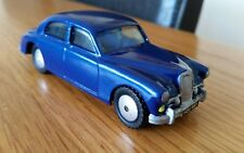 Vintage 1950's Corgi Riley Pathfinder 205 Model Car Fully Refurbished Blue Rare