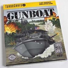 Nec Turbo Grafx 16 Cartridge # gunboat # PC Engine * artículo nuevo/Brand New!