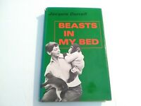 Jacquie Durrell BEASTS IN MY BED Hardcover First American Edition Dust Jacket
