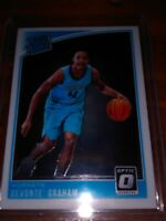 2018-19 Panini Devonte Graham Optic Rated Rookie Charlotte Hornets RC MINT!!