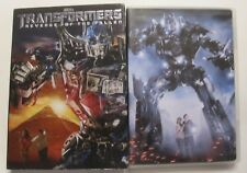 lot of 2 TRANSFORMERS movies DVD TRANSFORMERS & REVENGE OF THE FALLEN