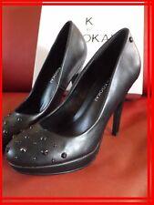 PRIX BOUTIQUE 65 € K by KOOKAI 37 Superbes chaussures cuir noires escarpins