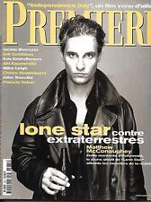 PREMIERE Nº235 OCTUBRE 1996 MCCONAUGHEY/ INDEPENDENCIA DAY/ MCGREGOR/ LEIGH