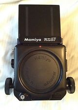 Mamiya RZ67 Medium Format SLR Film Camera Body with waist level finder.