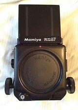 Mamiya RZ67 Pellicola Medio Formato Slr Corpo Della Fotocamera Con FINDER livello della vita.