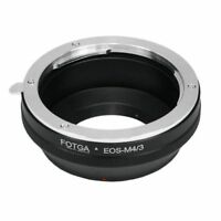 Canon EOS-M4/3  EF lens to Micro 4/3 M43 Mount Adapter For E-P3 E-PL2 Panasonic