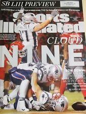 SPORTS ILLUSTRATED January 2019 Super Bowl LIII Tom Brady Patriots CLOUD 9