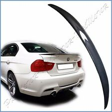 Performance Look Carbon Fiber Fit 06-11 BMW E90 328i 325i M3 Rear Trunk Spoiler