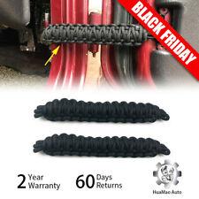 Black Auto Door Limit Strap Bandage Rope for Jeep Wrangler JL JK TJ 1997+ Parts