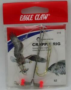 Eagle Claw 015H-6 Auto Crappie Rig Size 6 22228