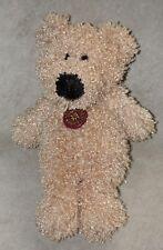 Dan Dee Collector's Choice Plush Teddy Bear Blond Tan Curly Fur Stuffed Animal