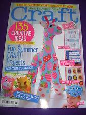 WOMAN'S WEEKLY CRAFT MAGAZINE AUG 2014 135 CREATIVE IDEAS GIRAFFE BIRDCAGE CARDS