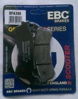 EBC Organic FRONT Disc Brake Pads Fits HONDA NSS300 FORZA (2013 to 2017)