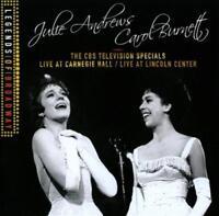 JULIE ANDREWS/CAROL BURNETT - THE CBS TELEVISION SPECIALS: LIVE AT CARNEGIE HALL