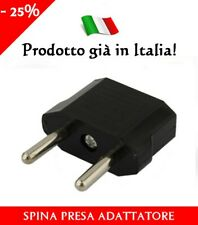 Adattatore presa Cinese o Americana a spina italiana Adattatore presa elettrica