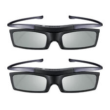 2Pcs 3D Active TV Shutter Glasses 4K HD UHD SUHD Samsung SSG-5100GB SSG-5150GB