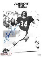 Walter Payton signed 8x10 Photo JSA COA Chicago Bears HOF Bold Auto B687