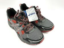 NEW! Asics Men's GEL-Venture 4 Running Shoes Grey/Red Size 7 T33N Cushion NWT