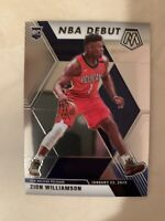 2019-20 Panini Mosaic NBA Debut Zion Williamson ***ROOKIE CARD*** #269, Pelicans