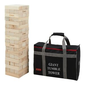 Giant Tumble Tower - Pine - Builds to over 150cm!