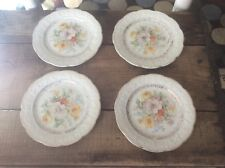 Vintage Plate , Floral Design, The Edwin M Knowles China Co, Buy 1 To Four