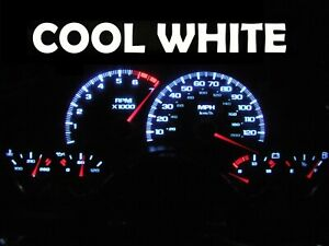 Gauge Cluster LED Dash kit Cool White For 97 02 Chevy Camaro Chevrolet SS Z28