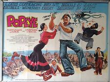 Cinema Poster: POPEYE 1981 (Quad) Robin Williams Shelley Duvall Ray Walston