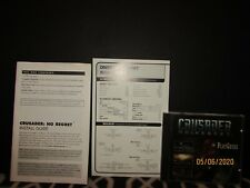 CRUSADER:  NO REGRETS GAME DISC + REFERENCE CARD + INSTALL GUIDE 1996