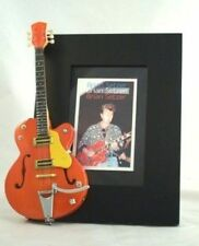 BRIAN SETZER Miniature Guitar Frame Stray Cats