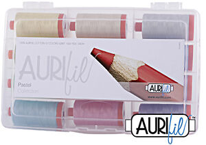 AURIFIL THREAD PASTEL COLLECTION  100% COTTON 50 WT