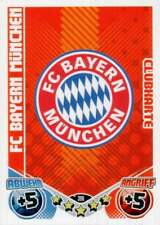 MATCH ATTAX Bundes Liga 2011 12 - 1. FCN + FC BAYERN - CLUBKARTEN 398 + 399, NEU