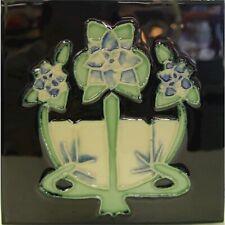 9934022 Jugendstil-Fliese Kachel Keramik neu 15,2x15,2cm