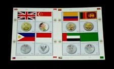 U.N. New York #953, 2008, Flag And Coin, Sheet Of 8 , Mnh, Nice! Lqqk!