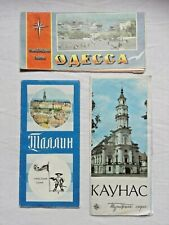 tourist schemes of the ussr in one lot.