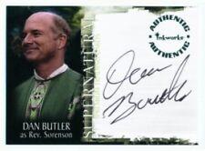 """DAN BUTLER """"REV SORENSON AUTOGRAPH CARD A-5"""" SUPERNATURAL SEASON 1"""