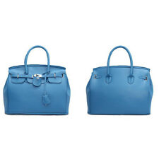 Stylish Simple Hasp Solid Handbags - Royal Blue (CFG041211)