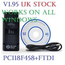 V1.95! OPEL OP COM Vauxhall OBD2 Diagnostic Code Reader Scanner Tool OPCOM 2018