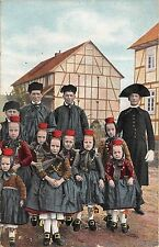 BR42840 Schwalm Tapisserie lisette aecker nurnberg child enfants folklore costum