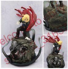 "Fullmetal Alchemist Edward Elric on Alphonse armor B PVC figure statue 8"" nobox"