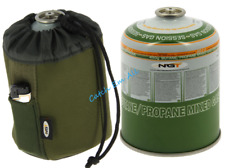 Neoprene Gas Canister Cover and 450g Gas Canister Camping Carp Fishing NGT