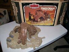 Dagobah Action Playset Near Complete w/ Box Star Wars ESB Vintage Kenner 1980