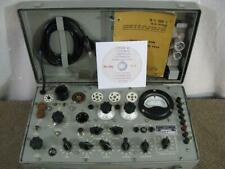 TV-7/U Military Mutual Conductance Tube Tester - Improved and Calibrated *.*