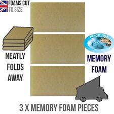 "*Memory Foam 2""  Mazda Bongo Ford Freda Mattress Topper ROCK AND ROLL"